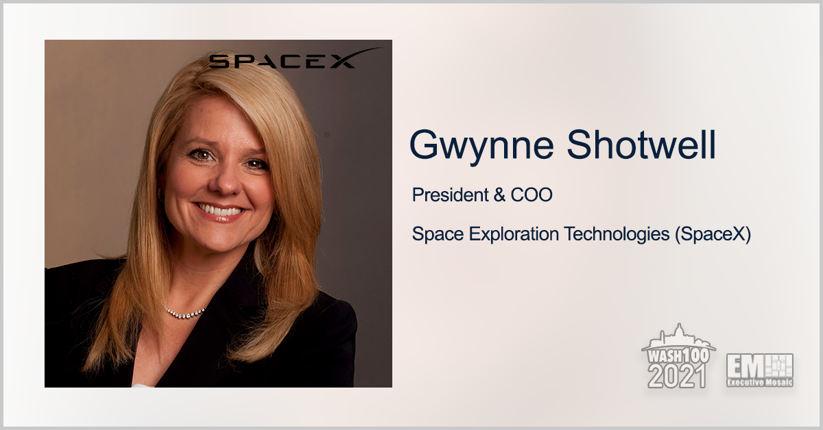 Axiom Space Expands Partnership With SpaceX on Commercial Human Spaceflight; Gwynne Shotwell Quoted - top government contractors - best government contracting event