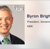 KBR Receives $92M USAF Task Order for Aircraft Engineering Services; Byron Bright Quoted - top government contractors - best government contracting event