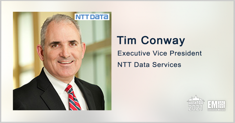 Tim Conway: NTT Data to Modernize DOJ Court Management System - top government contractors - best government contracting event