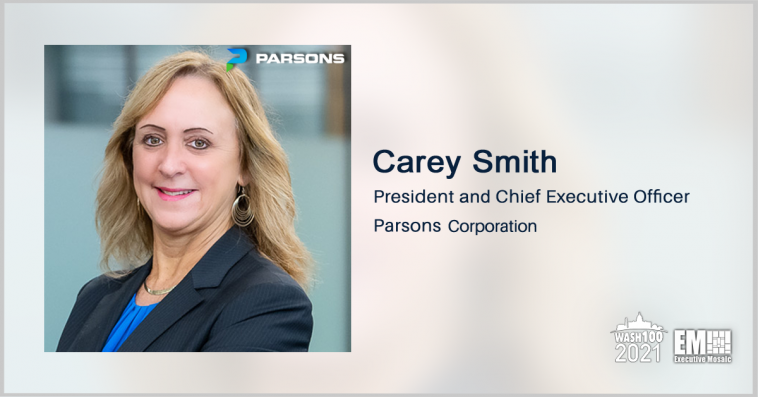 Executive Spotlight: Carey Smith, President and CEO of Parsons - top government contractors - best government contracting event